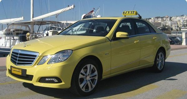 Greece Private Tours - mercedes benz taxi