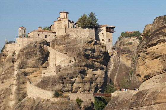 Classical Tour of Greece. Meteora monasteries