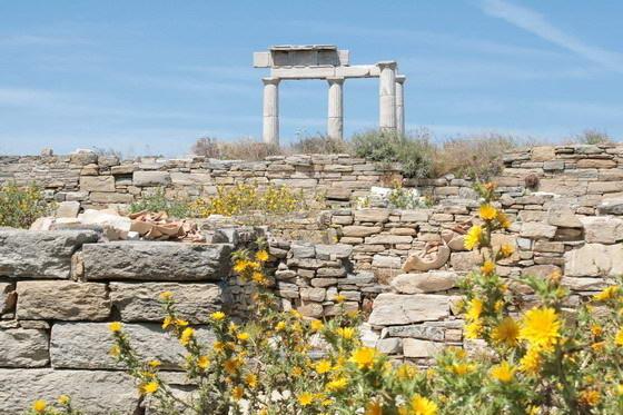 Delos Island, Aegean Sea