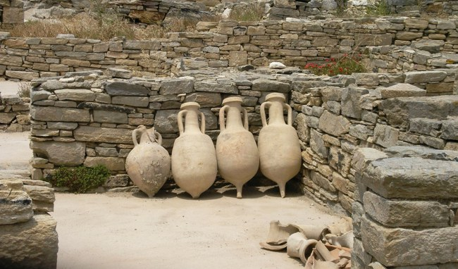 Delos Island, The Cyclades, Greece