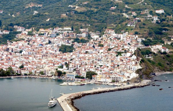 Skopelos down-town The Sporades Islands