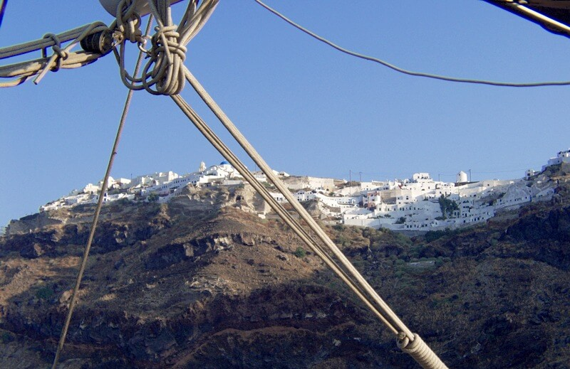 Greek cruise holidays, Santorini Island