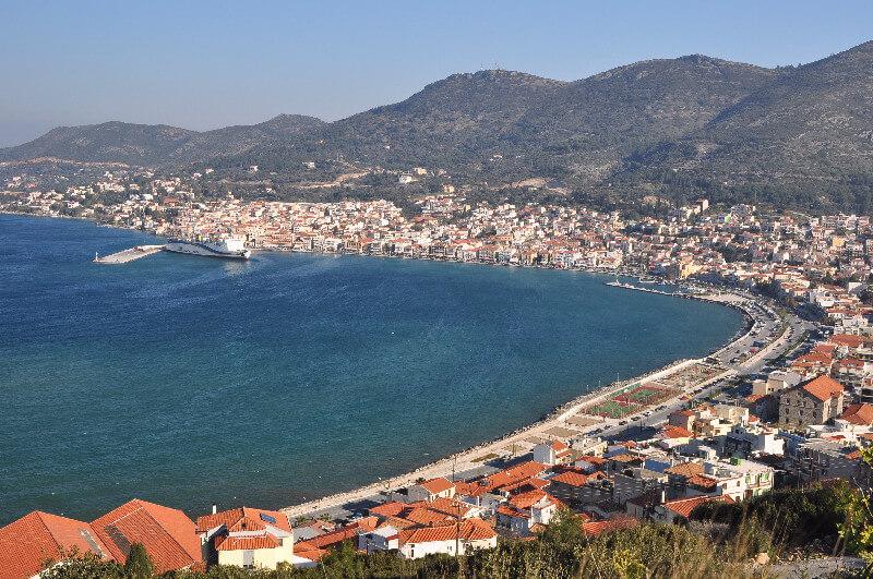 Port of Samos. Pythagoreion and Heraion of Samos
