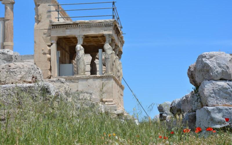 The Erechtheion, Acropolis of Athens