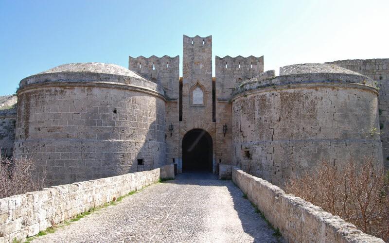 Greek Island of Rhodes, the Castle