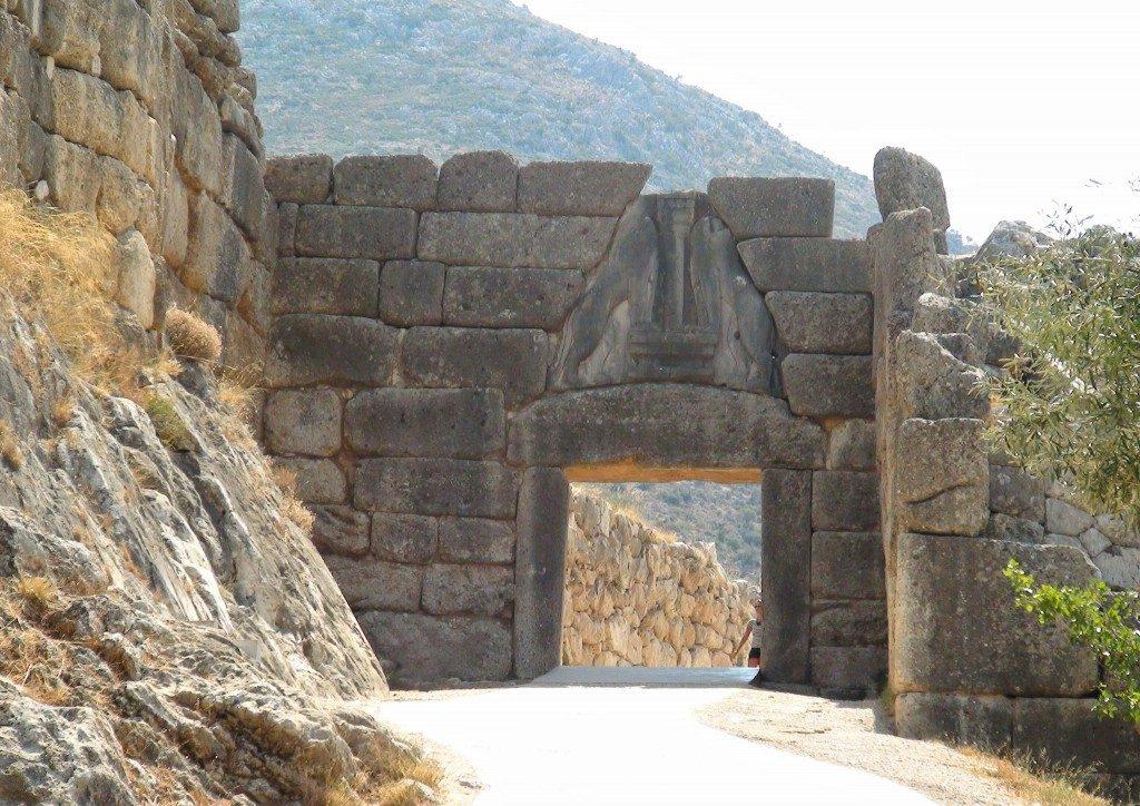 Lions Gate at Mycenae