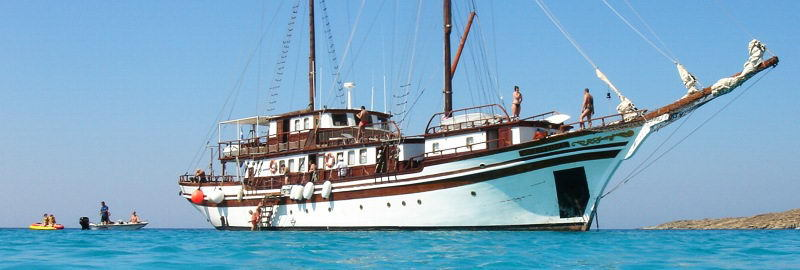 Greek Cruises onboard a yacht - Aegeotissa II