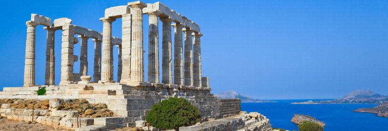 Spring Break Study Tour - Temple of Poseidon in Cape Sounion