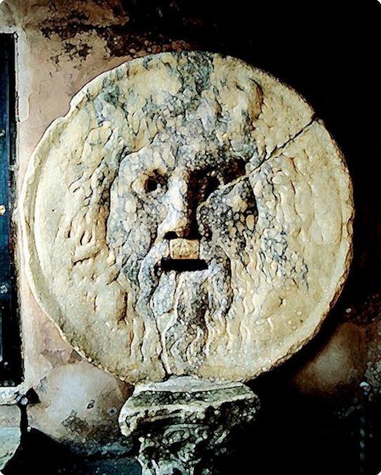 "Bocca della verita,courtesy by ""Fototeca ENIT"" DeAgostini Pictures LIbrary"