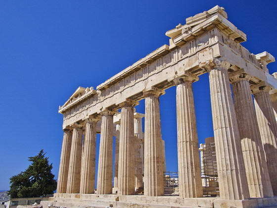 The Parthenon, Acropolis of Athens. Greece Tours deals.