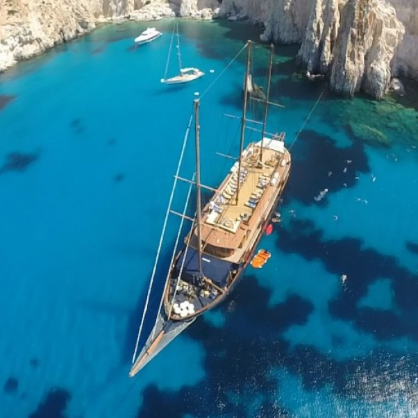 Greece Cruise deals 2018. Crystal clear water. The m/s Galileo.