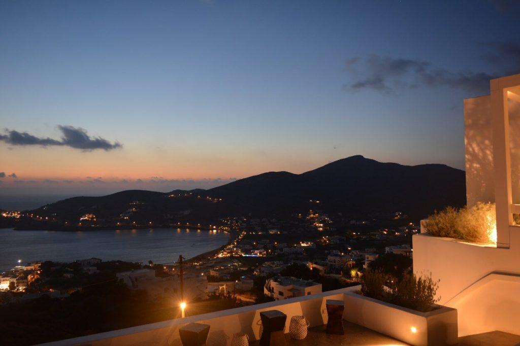 Greek Cruises, Ios at night