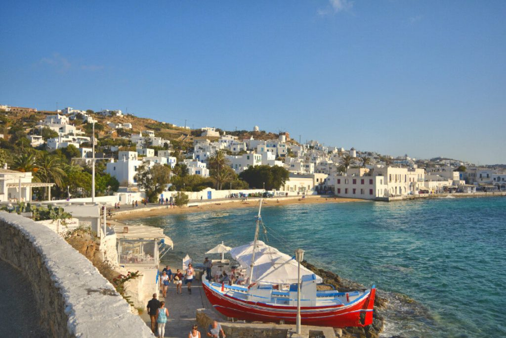 Island Hopping in Greece, Mykonos