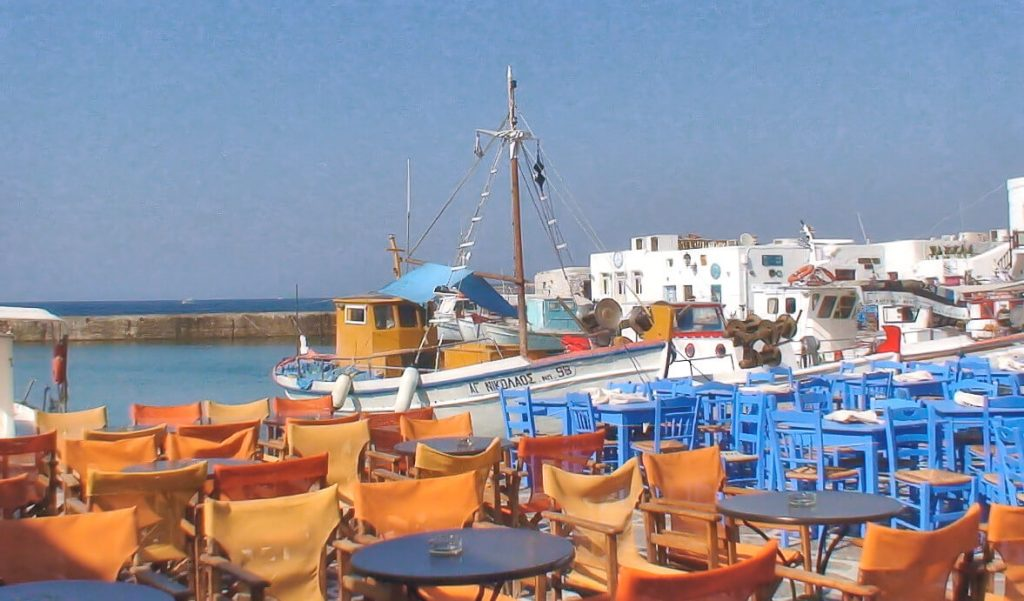 visit grandparents homeland, Paros Island