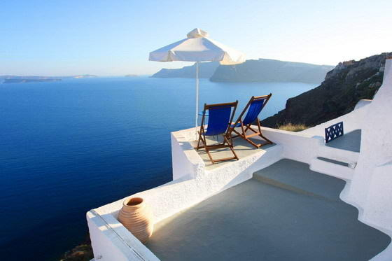 Greek Cruises - View from Santorini