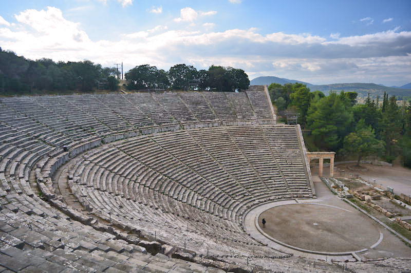 Alumni Tour of Greece - 14 Days Unique Greece - Epidaurus ancient theatre
