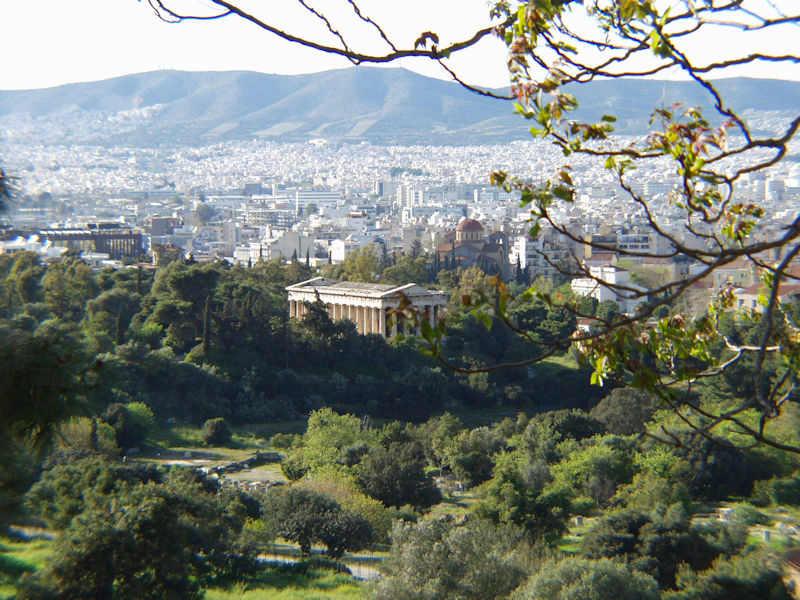 Hephaestus ancient Temple, Athens