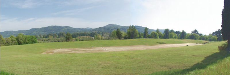 Stadium at ancient Olympia Greece