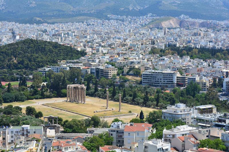 Olympioy Dios Stelai, Athens