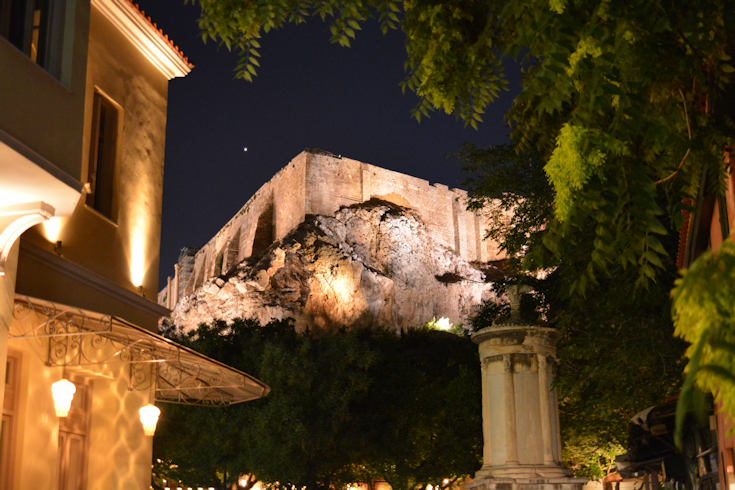 Lysicrates monument, Athens