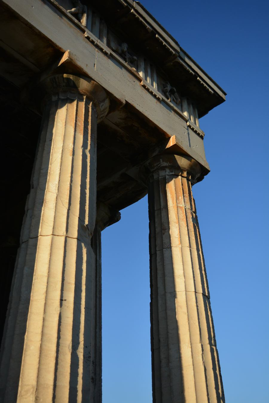 Ancient columns, Haphaestus Temple