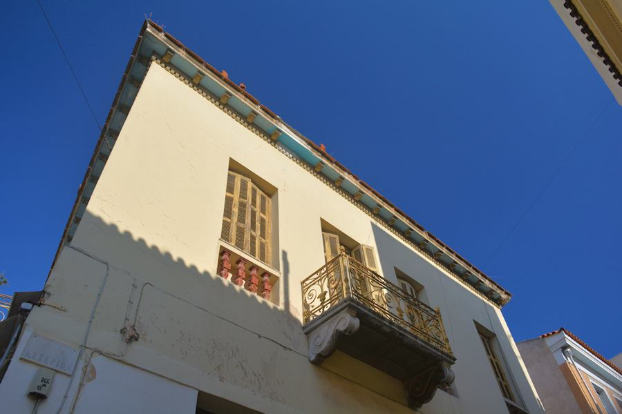 "Plaka, Greek ""arhontiko"" building"