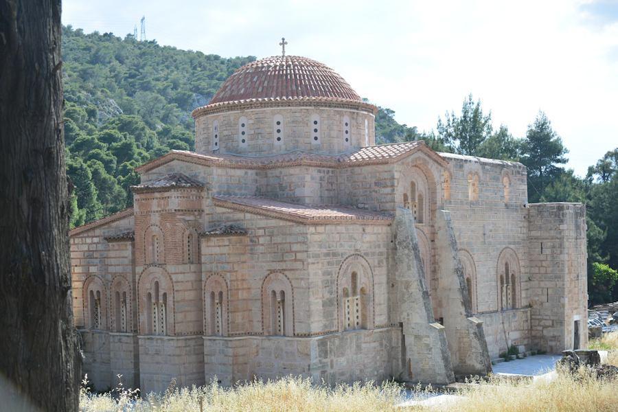 Moni Dafniou, Athens