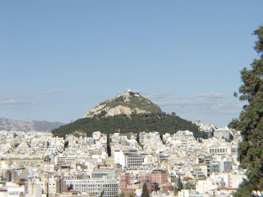 Lycabetus hil, Athens