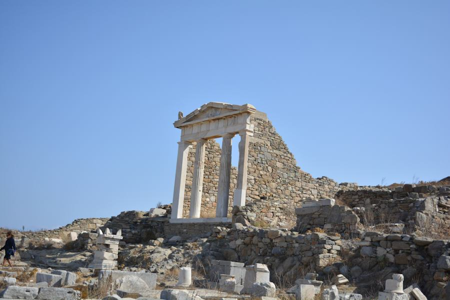 Delos Island, a must visit while your vacations in Greece