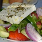 Taste a Greek salad