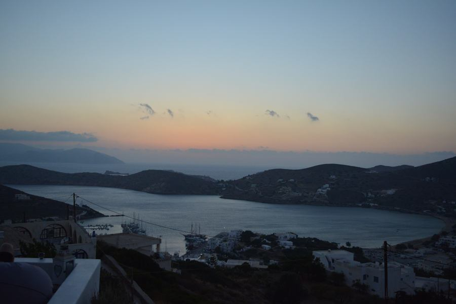 Ios Island from Chora, vacation in Greece