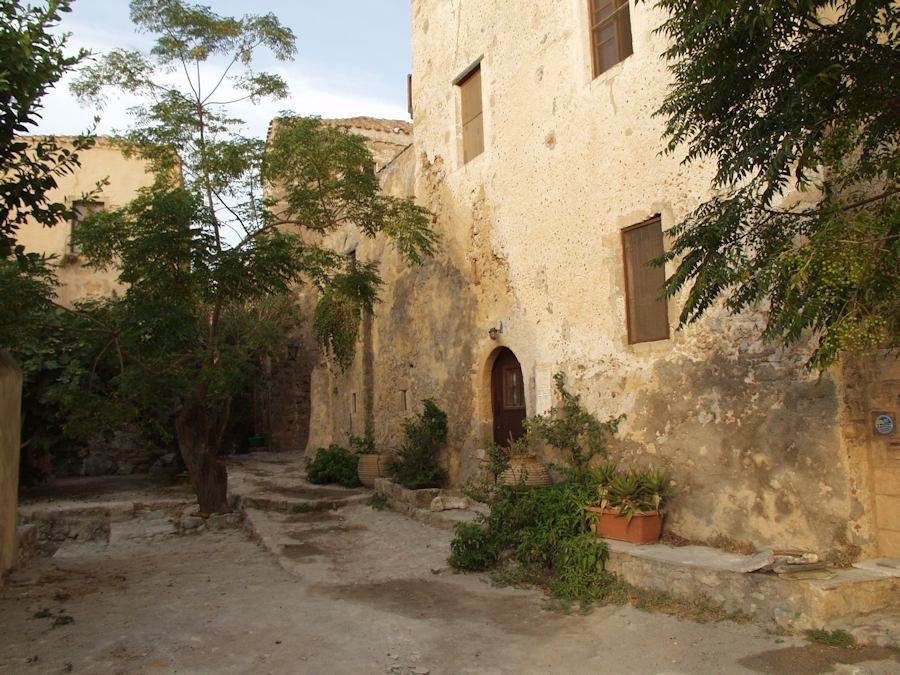 Monemvasia, inside the castle