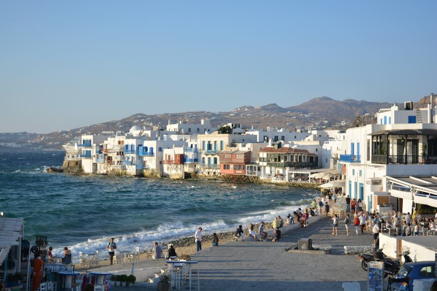 Little Venice at Mykonos