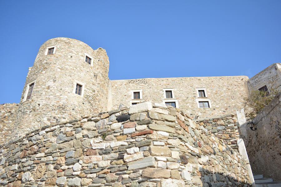 Naxos castle