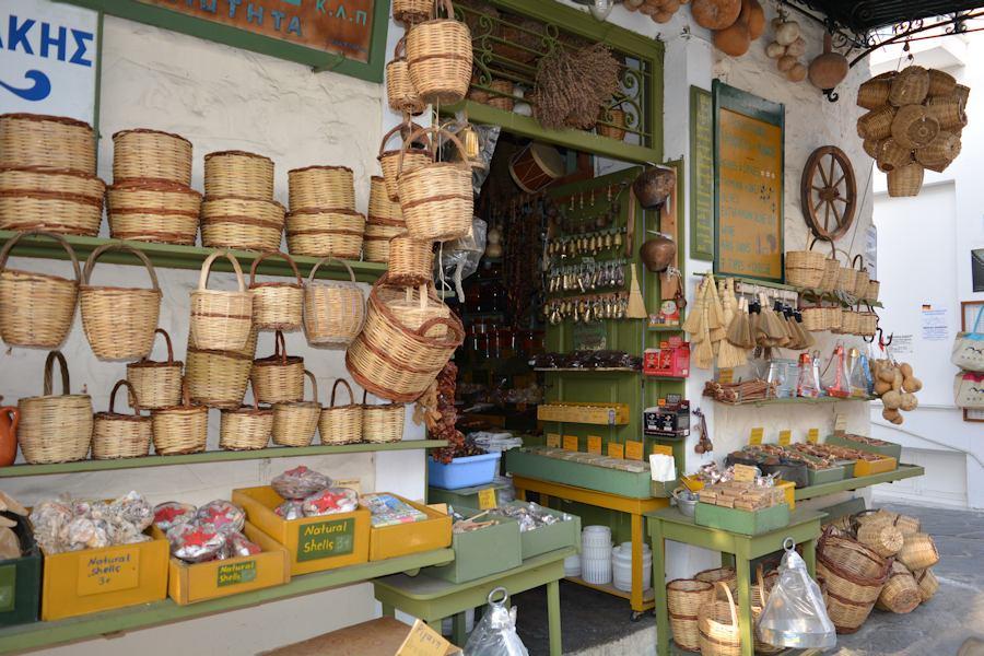Naxos down-town market
