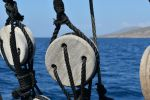 at sea in Greece